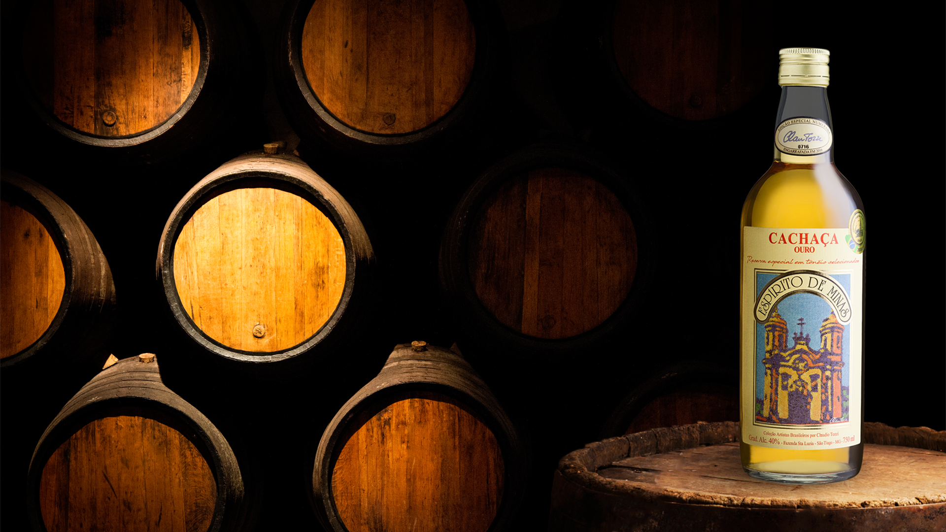 Selected Oak Barrels